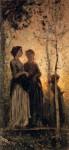 Живопись | Cristiano Banti | Three Peasant Women, 1881