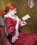 Живопись | Federico Zandomeneghi | The good book, 1897