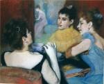 Живопись | Federico Zandomeneghi | The tea, 1893