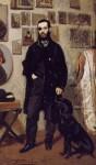 Живопись | Giovanni Boldini | Portrait of Abbati, 1865
