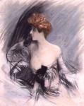 Живопись | Giovanni Boldini | Portrait of Sarah Bernhardt