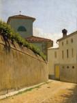 Живопись | Giuseppe Abbati | Stradina al sole, 1862