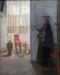Живопись | Готхард Кюль | Визит, 1900