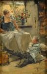Живопись | Готхард Кюль | Небольшое происшествие, 1905