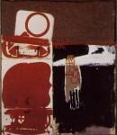 Живопись | Joseph Beuys | Дочь Короля видит Исландию, 1960