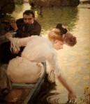 Живопись | Лео Путц | Calm Day, 1901