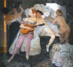 Живопись | Лео Путц | За кулисами, 1905