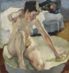 Живопись | Лео Путц | In der Badewanne, 1911