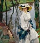 Живопись | Лео Путц | On the River Bank, 1909