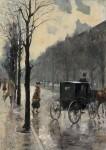 Живопись | Лессер Ури | На улице Курфюрстендамм, 1910