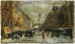 Живопись | Лессер Ури | Бульвар в Париже, 1928