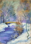 Живопись | Лессер Ури | Тиргартен зимой, 1892