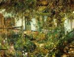 Живопись | Lovis Corinth | Farmyard in Bloom, 1904