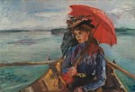 Живопись | Ловис Коринт | Фроляйн Хек, 1897