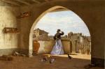 Живопись | Odoardo Borrani | La mia terrazza, 1865
