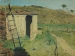 Живопись | Raffaello Sernesi | Casa con scala