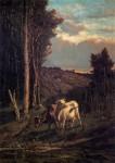 Живопись | Serafino De Tivoli | A Pasture, 1859