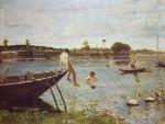 Живопись | Serafino De Tivoli | La pescaia a Bougival