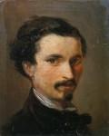 Живопись | Silvestro Lega | Автопортрет, 1861