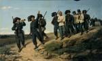 Живопись | Сильвестро Лега | Берсальеры, ведущие пленных, 1861
