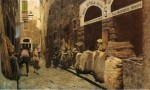 Живопись | Телемако Синьорини | La Via del fuoco, 1881