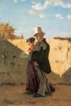 Живопись | Винченцо Кабьянка | Прогулка, 1867