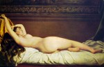 Живопись | Vito D'Ancona | Nudo, 1873
