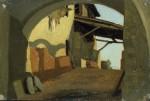 Живопись | Вито Д'Анкона | Portico, 1861
