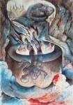 Иллюстрация | Уильям Блейк | Данте, «Божественная комедия» | Ад