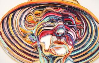 Бумажное искусство от Юлии Бродской