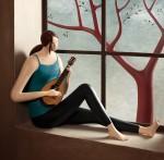 Скульптура | Irma Gruenholz | Mandoline