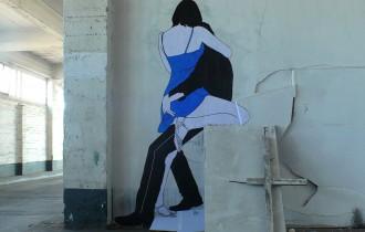 Поцелуи На Стенах От Уличного Художника Clair