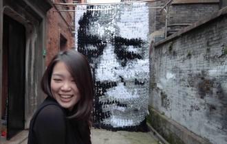 Портреты из подручных материалов от Hong Yi