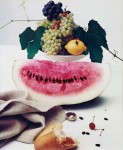Фотография | Ирвинг Пенн | Still life with watermelon, 1947