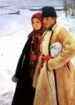 Живопись | Александр Мурашко | Зима, 1905