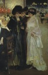 Живопись | Александр Мурашко | Парижское кафе, 1902