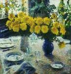 Живопись | Игорь Грабарь | Хризантемы, 1905