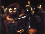 Живопись | Караваджо | Взятия Христа под стражу, 1602