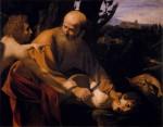 Живопись | Караваджо | Жертвоприношение Исаака, 1602