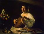 Живопись | Караваджо | Лютнист, 1596