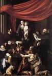 Живопись | Караваджо | Мадонна Розария, 1607
