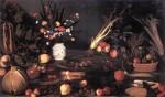 Живопись | Караваджо | Натюрморт с цветами и фруктами, 1601