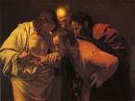 Живопись | Караваджо | Неверие Святого Фомы, 1602