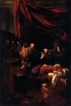 Живопись | Караваджо | Успение Богоматери, 1601-1603