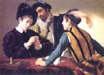Живопись | Караваджо | Шулера, 1594