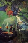 Живопись | Поль Гоген | Белая лошадь, 1898