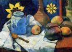 Живопись | Поль Гоген | Натюрморт с чайником и фруктами, 1896