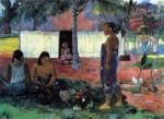 Живопись | Поль Гоген | Почему ты сердишься?, 1896