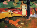 Живопись | Поль Гоген | Таитянская пастораль, 1898