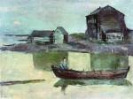 Живопись | Сергей Герасимов | Белое море. Вечер. 1933